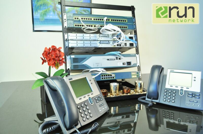 Complete Cisco CCNA CCVP R&S VOICE SECURITY Network Professional Home Lab Kit