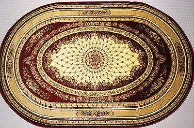 Klassischer Teppich Oval Kollektion