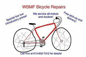 Spring Bike Tune-Ups!  Stay Safe and Ride Far!