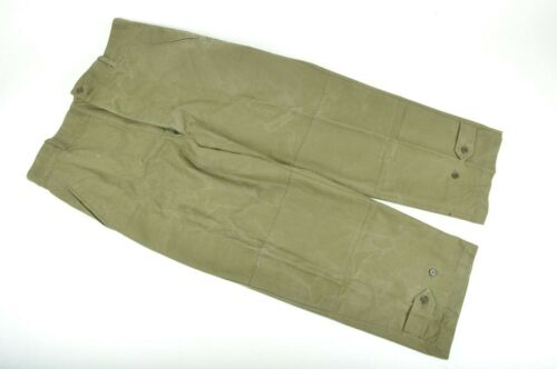 Vintage French Military Army M47 SIZE 17 Field Trousers Pants