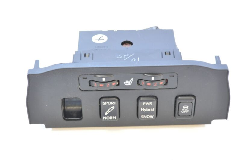 LEXUS GS 450H 2007 RHD SEAT HEATER TRACTION CONTROL SWITCH PANEL 58919-30040
