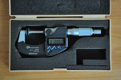 Mitutoyo Digital Disk Micrometer 0-1 Inch Model 323-350-30