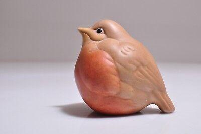 Vintage Signed Baby Robin Figurine