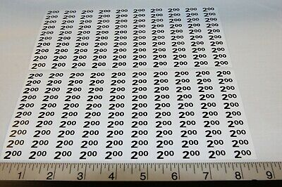 Automatic Products Ap Snack Machine Price Label Stickers 2.00 - 2.25 Qty. 200