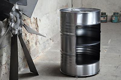 Fass Regal 200l Neu Fass Ölfass Barrel Fass Standregal Messeregal Büroregal