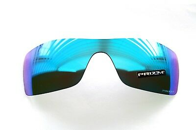 OAKLEY BATWOLF PRIZM SAPPHIRE REPLACEMENT LENS *AUTHENTIC* LENSES BLUE RARE