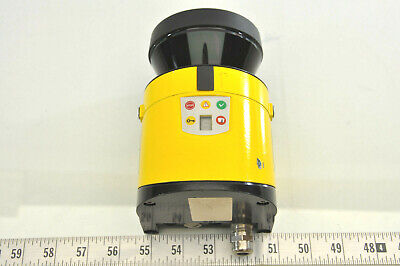 Sick Laser S30b-2011ca Safety Scanner With Base Tested - Working Cs4.5