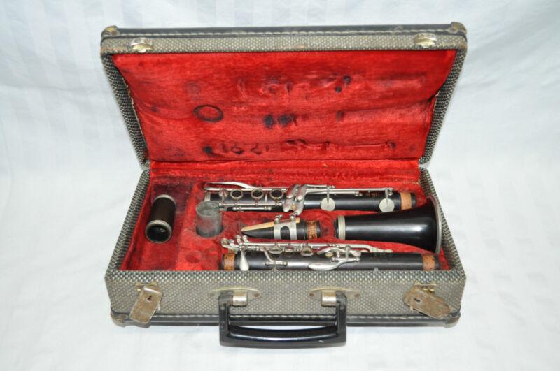 Leblanc N Noblet Paris France Wooden Clarinet
