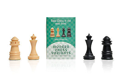 Uscf Sales Dragon And Spider   Musketeer Chess Variant Kit   4 Set