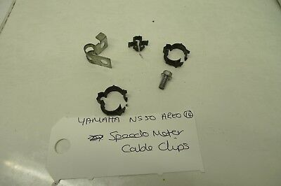 <em>YAMAHA</em> NS50 AEROX BREAKING  SPEEDOMETER CABLE CLIPS  SCOOTER BREAKER