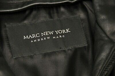 ANDREW MARK BRAND NEW GENUINE BLACK LEATHER JACKET