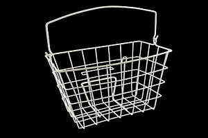ORIGINAL-NEW-WIRE-BASKET-FOR-RALEIGH-CAPRICE-or-LIZ-PEPPERELL-BRITISH-WHITE-NOS