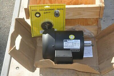 Weg Electric Motor Model 7536es2ejp56j 3470 Rpm 34 Hp 3 Phase New