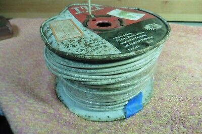 Vtg Wire Itt Western Electric 12 Awg Copper Strand Thhn Thwn Mtw Awm 600v 300
