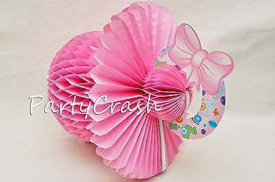 3pcs Baby Shower Party Decoration Table Centerpiece or Hang Pink Blue Pacifiers](Pink And Blue Table Decorations)