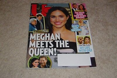 Meghan Markle Meets The Queen September 25 2017 Us Weekly Magazine Prince Harry
