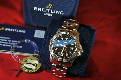 Breitling Avenger Automatic GMT 43 A32397 - Unworn & 4 Months Old.