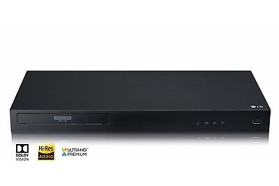 LG UBK90 - 4K Ultra HD HDR Dolby Vision Blu-ray Player (Original Acc Included)