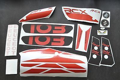 Kit autocollant peugeot 103 rcx de 1994