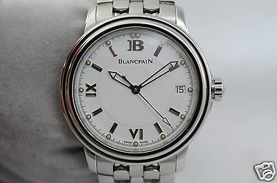 Blancpain Leman Ultra Slim 2100 automatic 100 hours, serviced, excellent