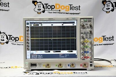 Agilent Mso9104a Oscilloscope 1ghz 4 Analog Plus 16 Digital Channels