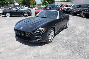 2017 Fiat 124 SPIDER, BOSE, CAMERA, ANGLES MORTS LUSSO, CUIR, GP