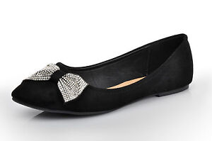 about black diamante evening prom wedding flat pumps bridal ballerina