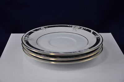 International Fine China Chelsea 6500 Saucers Set of Three (3) International Fine China