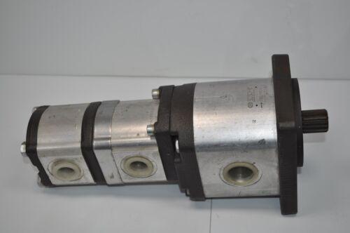 Bosch Rexroth Hydraulic Gear Pump System   # 1-517-222-806 807 / 1-515-515-136