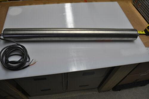 """3"""" OD x 31.5"""" Long Motorized Conveyor  Roller Drum motor"""
