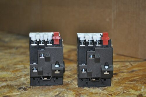 LOT OF 2 DANFOSS TI16C THERMAL OVERLOAD RELAY USED FREE SHIPPING