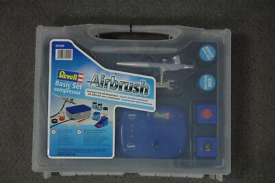 Revell 39199 Airbrush Einsteiger-Set mit Kompressor NEU