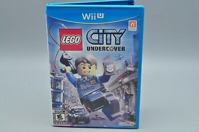 LEGO City Undercover - Nintendo Wii U COMPLETE CIB Tested Free Shipping