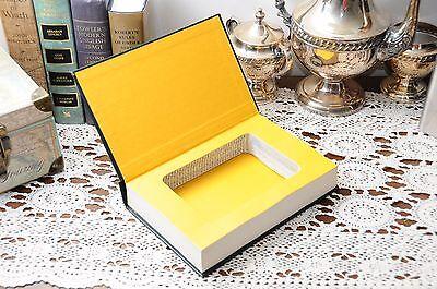 Veritas Hollow Book Safe w/ 8oz Steel Flask - Vintage Secret Storage Mens Gift](Bible Flask)