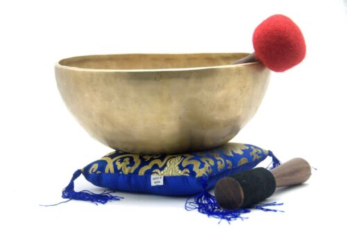13 inches large Himalayan singing bowl-handmade in Nepal-master quality-Nepal
