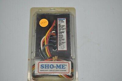 New Sho-me Alternating Grille Light Headlight Flasher 60 Fpm  03.w262