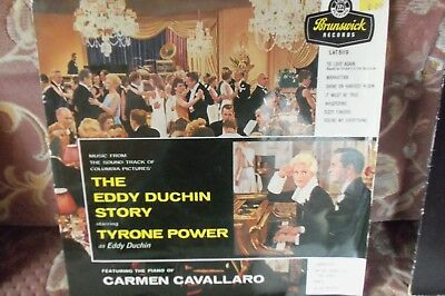 SOUNDTRACK - THE EDDY DUCHIN STORY -  OVER 60 YRS OLD - 1956 - £10