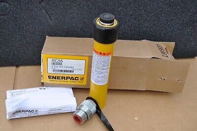 Enerpac Rc-55 Hydraulic Cylinder 5 Ton 5 Inch Stroke New In Box