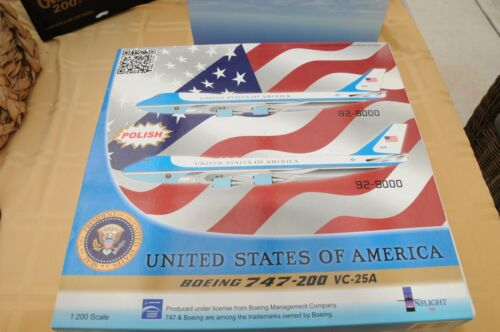 Inflight 200 Air Force One B747