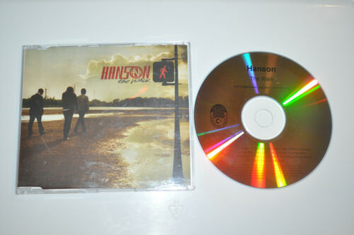 RARE Hanson The Walk Full Length UK Promo CD!