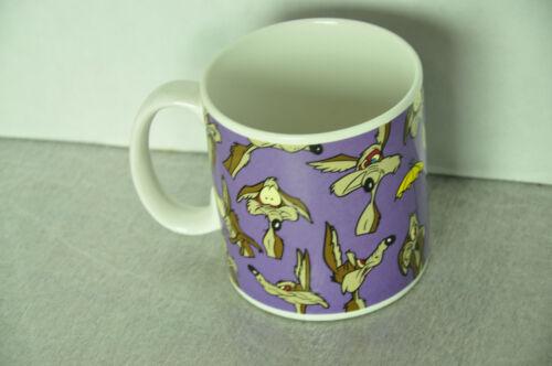 Vintage Warner Brothers Wile E Coyote Coffee Mug Tea Cup Applause 1994