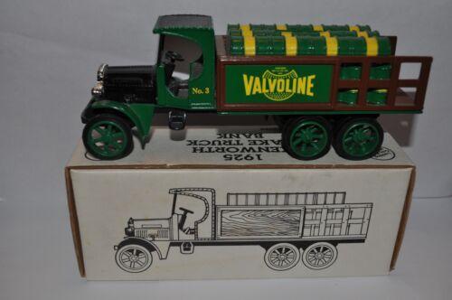 Ertl Bank Valvoline Oil Company 1925 Kenworth Stake Truck - 1993 - New in Box