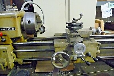 Clausing 5914 12x36 Metal Lathe 2hp Variable Speed 3 Jaw Chuck .