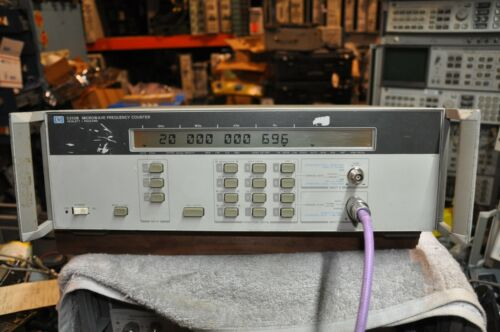 HP/Agilent 5350B Microwave Frequency  Counter  10Hz -20 GHz, Option 001