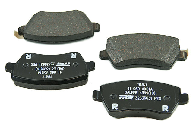 4x Nissan Genuine Micra Note Car Front Brake Pads OEM Braking Pad Set D1060BH40A