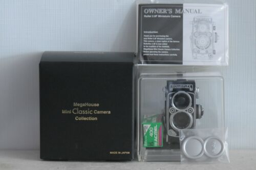 Rollei 2.8F Subminiature Film Camera with Display Case & Box