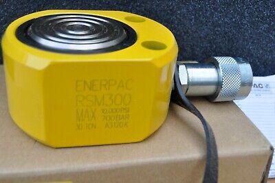 Enerpac Rsm-300 Hydraulic Cylinder 30 Ton Flat-jac 12 Stroke New