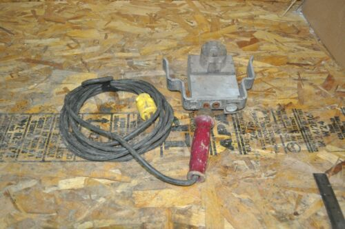 MCELROY FUSION PLATE HEATING IRON WITH DIE USED FREE SHIPPING