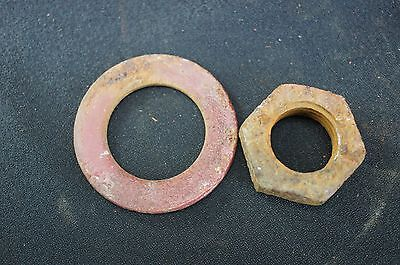 Ih Farmall International Super A 100 130 140 Fast Hitch 1pt Lift Rod Nut Washer