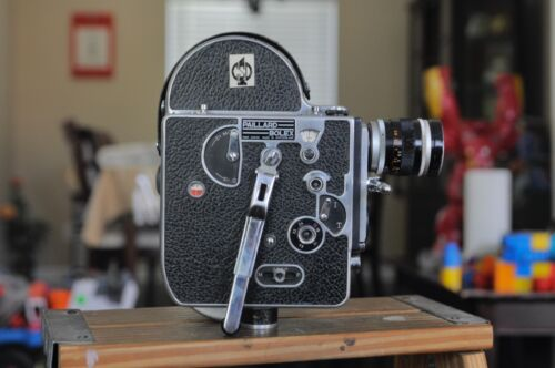 Bolex H16 Camera body with a canon 50mm lens